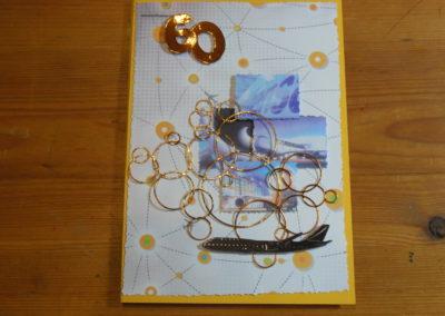 Geburtstagskarte 18